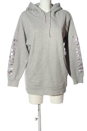2nd Day Hooded Sweatshirt light grey flecked casual look