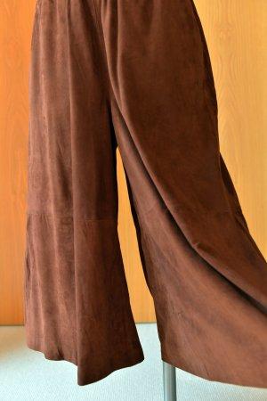 2nd Day Falda pantalón de pernera ancha multicolor Cuero
