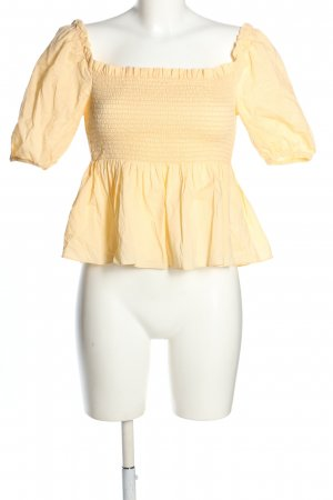 2nd Day Peplum Top primrose casual look