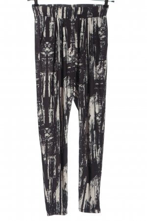 2nd One Baggy broek abstract patroon casual uitstraling