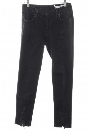 2nd One High Waist Jeans schwarz Casual-Look