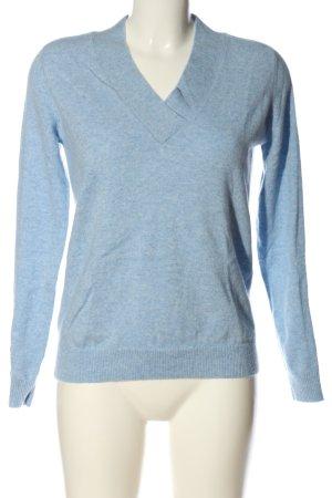 2NDDAY Kaszmirowy sweter niebieski Melanżowy W stylu casual