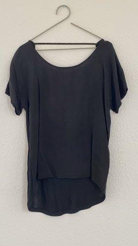 2nd Day Camisa de cuello barco negro