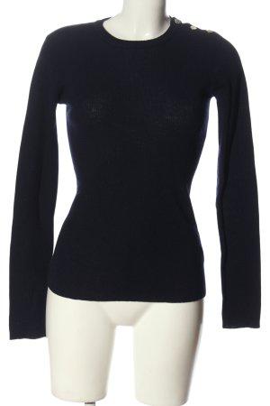 2NDDAY Maglione di lana blu stile casual
