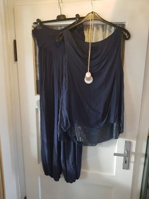 Trouser Suit dark blue
