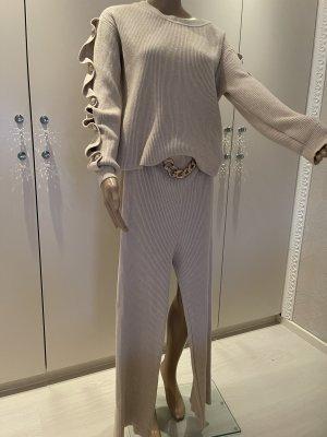 Monte Cervino Knitted Twin Set cream