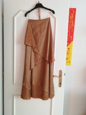 Robe de bal bronze-doré