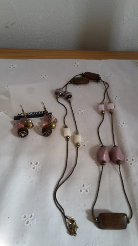 Accessoires Collar marrón grisáceo-marrón