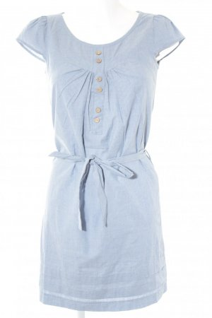 2Two Blouse Dress azure-cornflower blue cotton