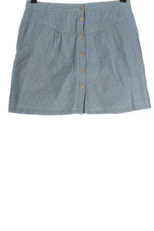 2Two Mini rok blauw-lichtgrijs gestreept patroon casual uitstraling