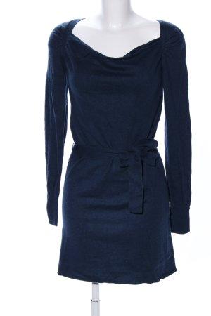 2Two Gebreide jurk blauw casual uitstraling