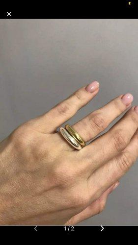 2x 925 Sterling Silber Ring