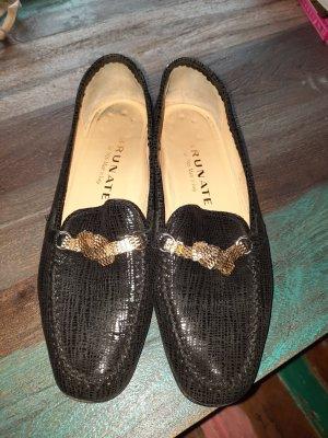 Brunate Pantoffels zwart-goud