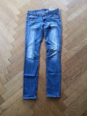 2x Jeans mit Nähten von  edc Esprit 27/32