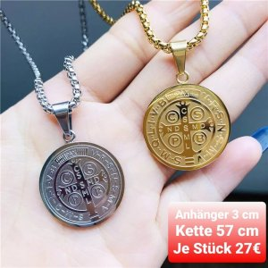 SmD Medaglione argento-oro