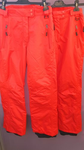 Crivit Snow Pants red polyester