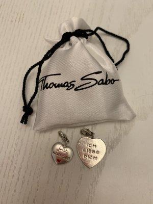 2x Thomas Sabo Charm Love