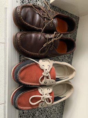 2x Timberland Schuhe Schnürschuhe Halbschuhe Boots Ballerinas Gr. 37