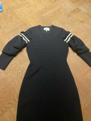 3.1 Phillip Lim Sukienka midi biały-czarny