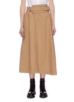 3.1 Phillip Lim High Waist Skirt light brown