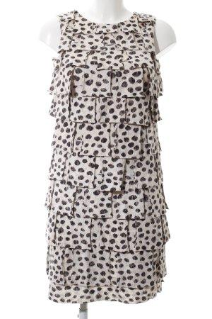 3.1 Phillip Lim Sukienka koktajlowa w kolorze białej wełny-czarny Elegancki