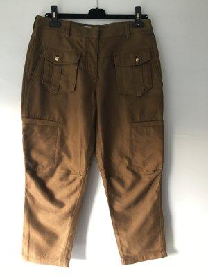 3.1 Phillip Lim Pantalón de camuflaje color bronce-coñac