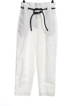 3.1 Phillip Lim Hoge taille broek wit casual uitstraling
