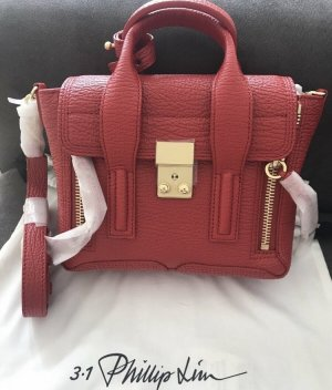 3.1 Phillip Lim Pashli Mini rot/gold ✨