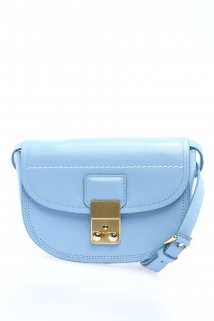 "3.1 Phillip Lim Bolsa de hombro ""Pashli Mini Saddle Belt Bag"" azul"