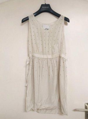 3.1 Phillip Lim Sukienka mini w kolorze białej wełny Jedwab