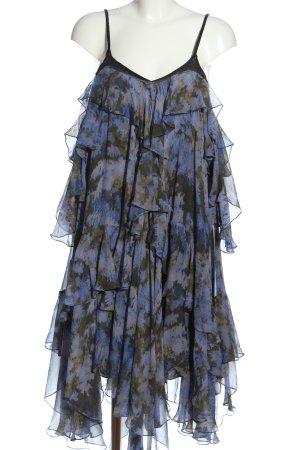 3.1 Phillip Lim Vestido de Verano lila-gris claro estampado floral look casual