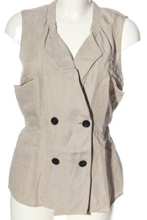 3.1 Phillip Lim Gilet tricoté blanc cassé style décontracté