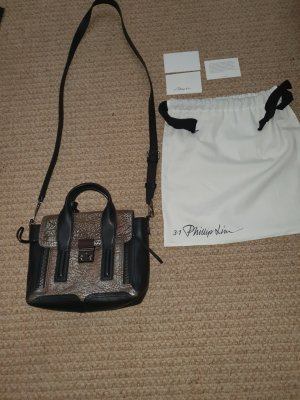 3.1 Phillip Lim Satchel black-silver-colored