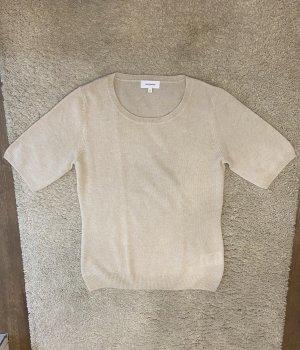 Darling Harbour Sweater met korte mouwen room-licht beige