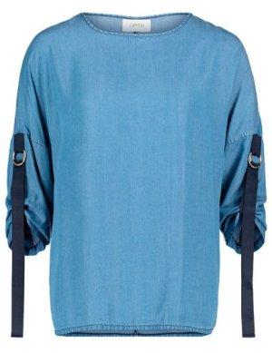 3/4-Arm-Bluse jeansblau