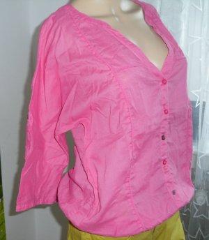 3/4 arm Bluse, Pink, EDC, Gr.M (15-AK)