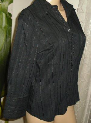 C&A Blusa brillante negro