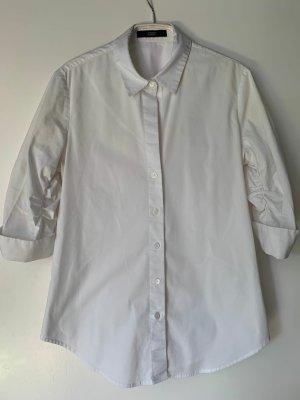 Steffen Schraut Short Sleeved Blouse white cotton