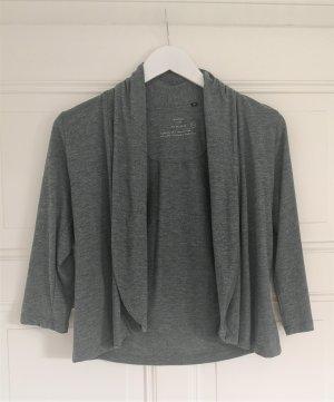 Opus Cardigan pale blue-slate-gray viscose