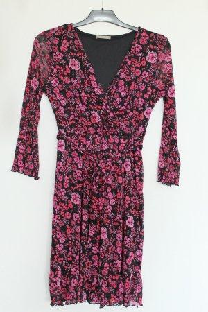 3/4 Arm Kleid Blumenmuster