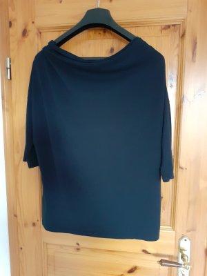 Laura T: Koszulka z dekoltem woda czarny
