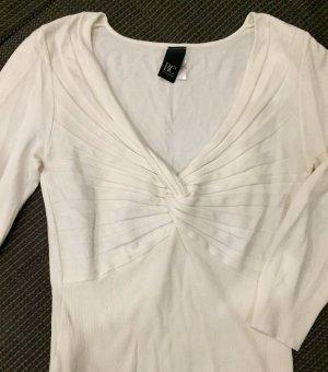 3/4 Arm Pulli Creme-Weiß