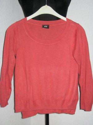 3/4 Arm Pullover in lässigem Look