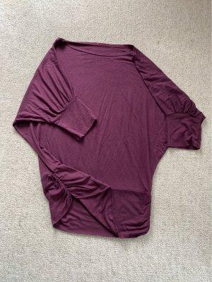 Boatneck Shirt blackberry-red
