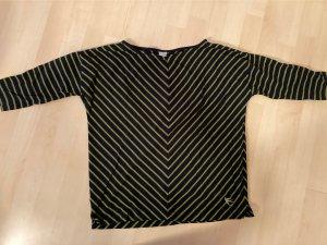 17&co Gestreept shirt donkerblauw-olijfgroen