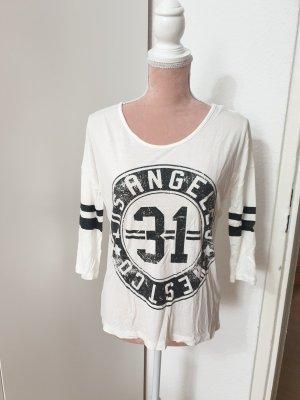 Atmosphere Camisa holgada blanco-negro