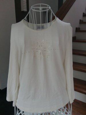3/4 Arm Shirt mit Schneeflocke Motiv