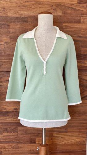 3/4-Arm-Shirt, pastellgrün
