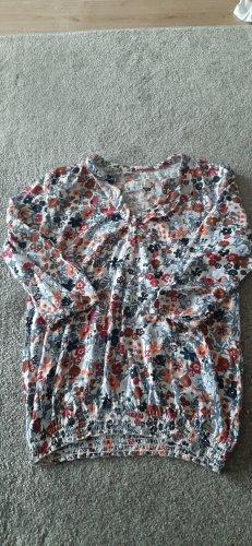 3/4-Blumenshirt