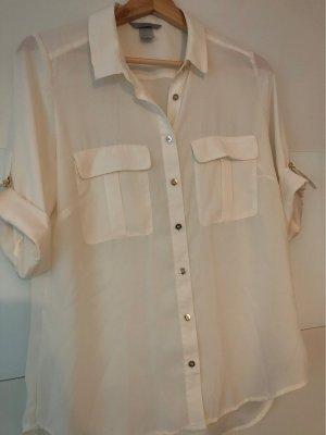 H&M Camicetta a maniche corte bianco sporco